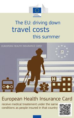 The unexpected can always happen! Don't leave home without the European Health Insurance card this summer! http://ec.europa.eu/social/main.jsp?catId=559