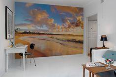 Hey, look at this wallpaper from Rebel Walls, Beach! #rebelwalls #wallpaper #wallmurals