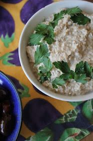 Gourmandises végétariennes: vegetürkisch: Auberginen-Joghurt-Creme