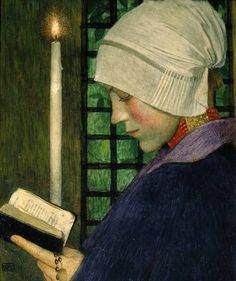Marianne Stokes Candlemas Day - Marianne Stokes - Wikimedia Commons