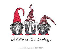 Image vectorielle de stock de Image vectorielle Carte de Noël avec 1249951678