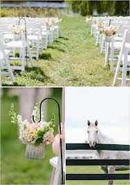 Country or Ranch wedding themed ceremony.