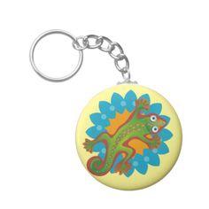 Hermoso lagarto verde, lizard. Regalos, Gifts. #llavero #KeyChain