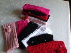 travaux tricots , jambières pour petite fille 3 ans . Aiguilles 31/2  , 60 mailles , 18 à 20  cm de hauteur .