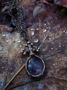 Amethyst pendant Parrish Relics | Personal collection Medieval Muse