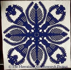 King Kalakaua's Kahili Maker unknown.  Made in Nawiliwili, Kauai Island, Hawaii late 1920's  to early 1930's. From the Hawaiian Quilt Resear...