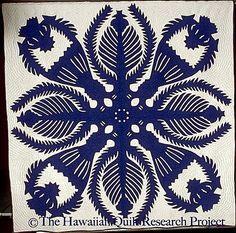 King Kalakaua's Kahili Maker unknown.  Made in Nawiliwili, Kauai Island, Hawaii late 1920's  to early 1930's. From the Hawaiian Quilt Resear...