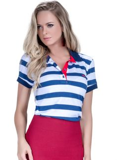 27 melhores imagens de Camisa Polo Feminina   Polo shirts, Women s e ... 69e46b7316