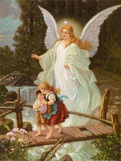 Heilige Schutzengel Art Print at AllPosters.com