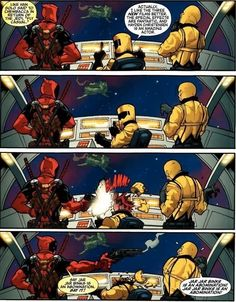 Fun facts about Deadpool! - Imgur