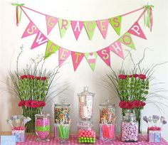 Such a sweet girl's B-day theme! @karie denny, reminded me of Grace of course!