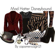 Mad Hatter Disneybound by capamericagirl21