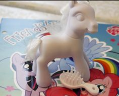 My Little Pony Birthday Party - some REALLY great ideas for throwing your daughter a MLP themed birthday party. I love the blank pony idea- I didnt know you could order those, awesome!