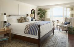 Beach Chic Guestroom at Shutters on the Beach in Santa Monica, Ca Done it