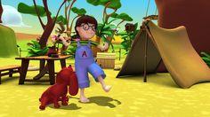 Alex en la selva, caricaturas animadas para niños para aprender los distintos animales que viven en la selva y sus características. Dibujos educativos infantiles.  --   Alex in the jungle, cartoons for kids to learn the different animals that live in the jungle and its characteristics. Children's educational cartoons. Toddlers