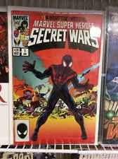 SECRET WARS 1 MIKE ZECK HEROESCON VARIANT SECRET WARS 8 HOMAGE GEM!
