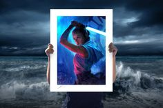 Star Wars The Duel: Rey Fine Art Print by Richard Luong | Sideshow Fine Art Prints Stormy Sea, Artist Signatures, Death Star, Star Wars Collection, Sideshow Collectibles, Heart For Kids, Light In The Dark, Giclee Print, The Past
