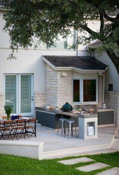 Pratique et esthétique : adoptez la cuisine d\'extérieur ...