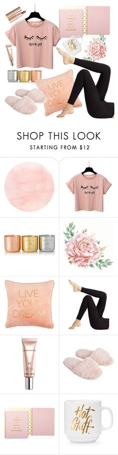 """good night"" by galpaiandamaris ❤ liked on Polyvore featuring Tom Dixon, Wolford, Giorgio Armani, Accessorize, Kate Spade and Charlotte Tilbury"