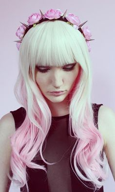 blonde-to-pink-ombre