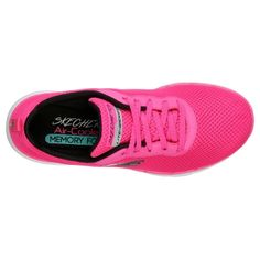 Skechers Flex Appeal - First Insight Pink Skechers, Memory Foam, Superga, Sneaker, Shoes, Fashion, Hot Pink Shoes, Female Athletes, Contrast Color