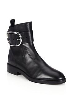 ANKLE BOOT Alexander Wang - Bara Buckled Leather Ankle Boots