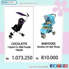 New arrival... Dapatkan koleksi stroller terbaik kami.. Tersedia dalam berbagai warna. Gratis ongkir Jabodetabek.  www.babylonish.com