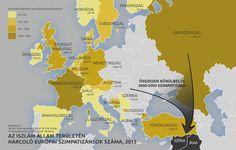 európai önkéntesek az iszlám állam oldalán isis