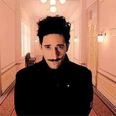 Adrien Brody as Dmitri in 'The Grand Budapest Hotel', 2014
