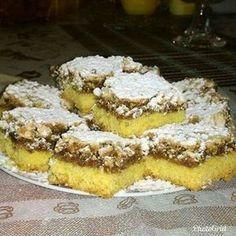 megmutatom a család favoritját! Hungarian Desserts, Hungarian Recipes, Poppy Cake, Cake Recipes, Dessert Recipes, Sweet Desserts, Dessert Bars, Cakes And More, Bread Baking