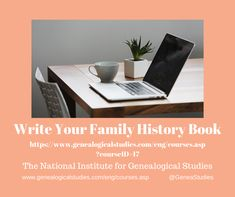 Course for Writing Your Family History Book. #Writing #genealogy #familyhistory Family History Book, History Books, Presentation Websites, Questioning Techniques, Summary Writing, The Art Of Storytelling, Family Research, Writing Exercises, Family Organizer