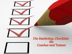 Wie angekündigt: Die Marketing Checkliste für Trainer und Coaches! http://nielskoschoreck.de/checklistemarketingcoachtrainer/   #Coach #Coaching #Trainer #Training #Marketing #TrainerMarketing #CoachMarketing