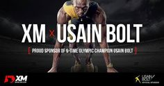Pleased to announce a new partnership with XM. Usain Bolt, November 2016
