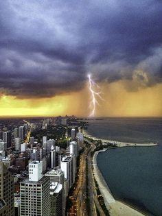 NE Storm at Blue Hour by John Harrison, via 500px