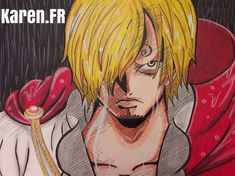 Fan Art de Sanji Vinsmoke...(One Piece)
