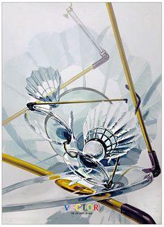경희대 기초디자인 안경 셔틀콕 Design Art, Graphic Design, Industrial Design, Drawings, Painting, Badminton, Marker, Industrial By Design, Painting Art