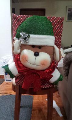 forros para sillas motivos navideño