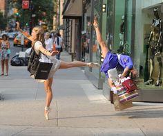 Dance anywhere and everywhere!
