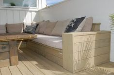 How to build outdoor furniture Outdoor Sofa, Outdoor Living, Outdoor Furniture, Outdoor Decor, Furniture Update, Woodworking Projects, Home Improvement, Pergola, Backyard