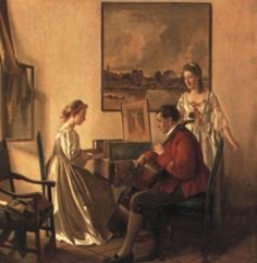 The recital by Franz Xaver Wolf