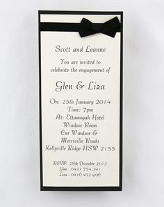 Simple black and cream wedding invitation. Looking for wedding invitations that will wow your guests? Check out these invites online with many different invitation designs and we can help with invitation wording. Weather you need to order invitations, diy invitations, just need invitation ideas, we can help with handmade wedding invitations, printed invitations, simple and elegant invitations and wedding cards.