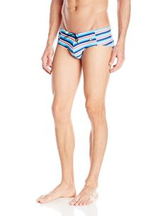 Introducing Mundo Unico Mens Playa Tejido Swim Brief Tricolor Large. Grab Your Swimsuits Here and follow us for more updates!