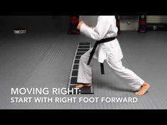 Short instructional video on the 5 basic agility ladders drills we use in our warm-ups demonstrated by Sensei Royce Allas. Jka Karate, Agility Ladder Drills, Youtube, Youtubers, Youtube Movies