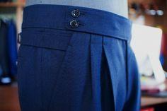 Zaremba, bespoke & ....................... — Bespoke trousers @ Zaremba Bespoke. Fabric...
