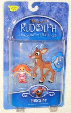 Rudolph the Island of Misfit Toys Action Figure Light-up Nose Misfit Doll NIP Playing Mantis Playing Mantis, Misfit Toys, Rudolph The Red, Red Nosed Reindeer, Childhood Toys, Misfits, Toy Boxes, Light Up, Bass