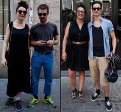 Zelda et Murak / Pauline et Jérémy dans les rues de Paris