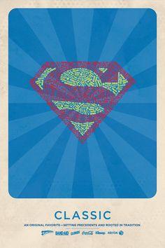 logos superheroes superman
