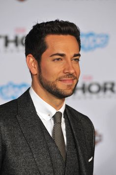 Zachary Levi.... who knew he could look so HOT!!!!!(the more I look at the pic, the HOTTER!!! He seems).