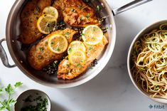 Healthy Recipe: Chicken Piccata with Noodles