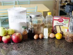 Apple Pie Cake apple-pie-cake Ingredients Topping 1 cup Gold Medal™ all-purpose flour cup packed brown sugar teaspoon salt cup butter, cut into small pieces Apple Mixture 6 apples, peeled, thinly sliced 3 tablespoons packed brown sugar 1 teasp Apple Desserts, Cookie Desserts, Apple Recipes, Delicious Desserts, Christmas Desserts, Pumpkin Recipes, Cake Mix Recipes, Dessert Recipes, Cake Mixes